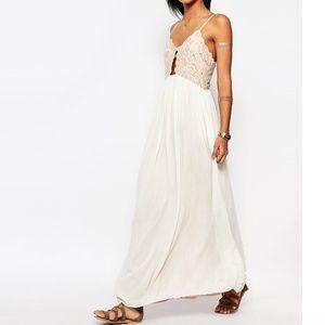 Tularosa Bryce Maxi Dress in Pale Blush